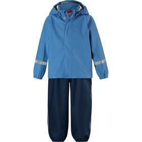 Reima Tihku Rain Outfit Kids Denim Blue